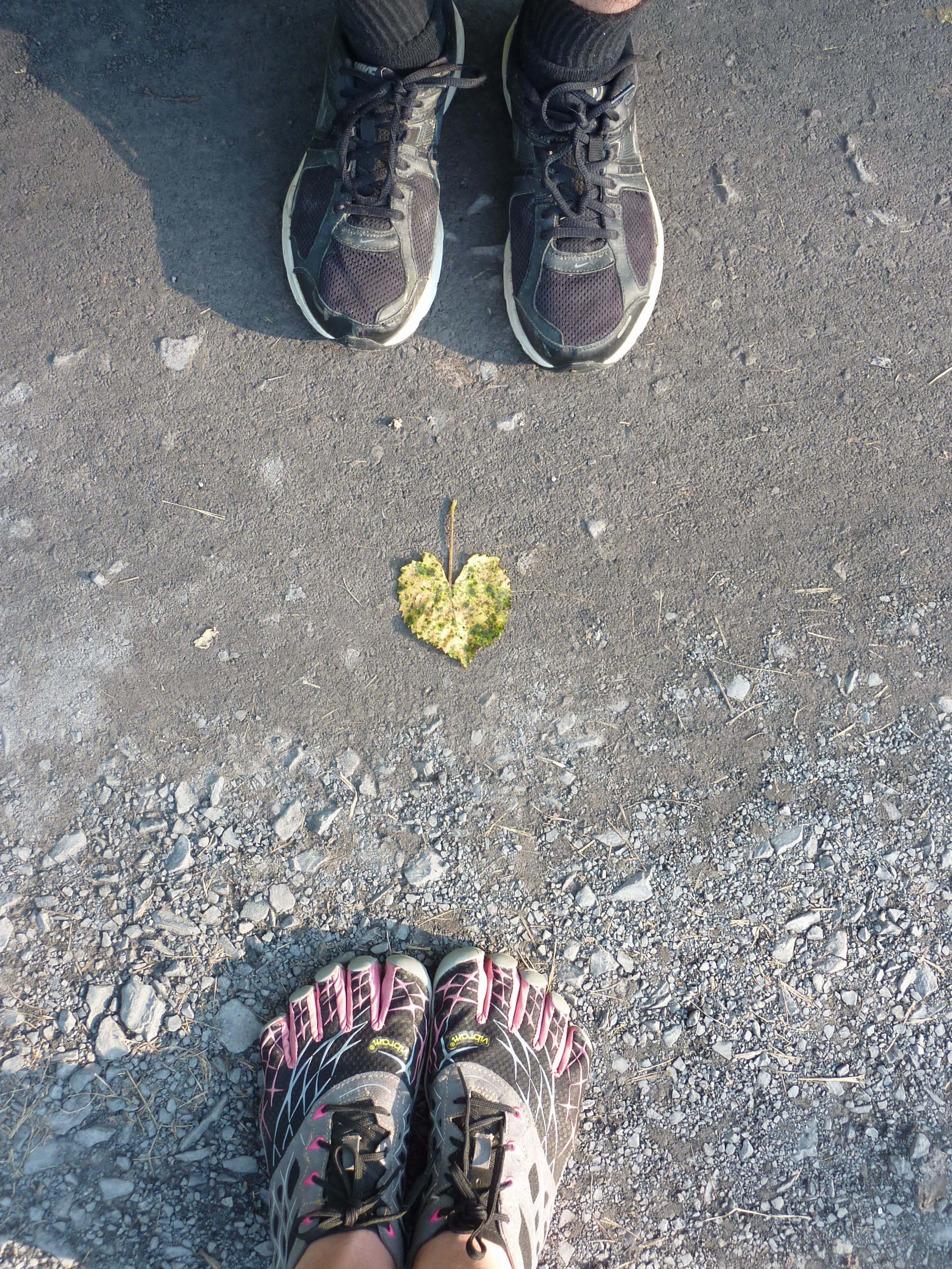 Feet heart
